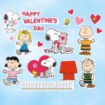 PEANUTS® Valentine Vinyl Clings