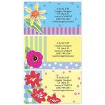 Painted Petals Calling Card