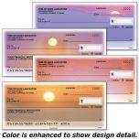 Sunset Splendor Single Checks