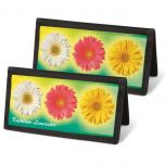 Illuminated Petals  Checkbook Covers