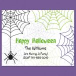 Webby Personalized  Note Cards
