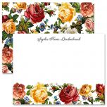 Victorian Roses Personalized Note Cards