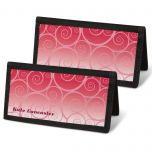 Swirly Girly  Checkbook Covers
