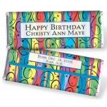 Festive Candy Bar Wrappers