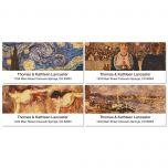 Fine Arts Deluxe Address Labels  (4 designs)
