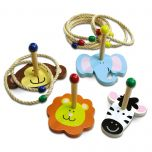 Zoo Ring Toss Game