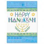 Personalized Happy Hanukkah Card