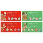 Gingerbread Land Address Labels  (4 designs)