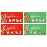 Gingerbread Land Address Labels  (4 designs)