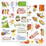 Fall and Winter Correspondence Stickers