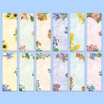 Floral Magnetic Shopping List Pads