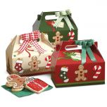 Gingerbread Man Treat Boxes
