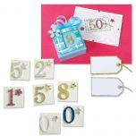 Dimensional Number & Tag Stickers