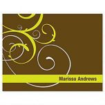 Swirl Note Cards