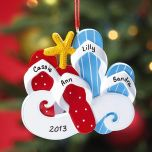 Flip-Flop Ornament - 1 Pair