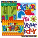 Bright & Bold Birthday Cards & Seals