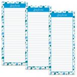 Zippy Dots Lined Shopping List Pads