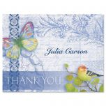 Exotic Prints Thank You Card