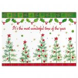 Whimsy Trees Christmas Card