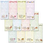 Faith Lined Magnetic Shopping List Pads