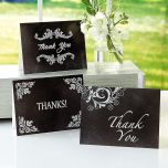 Blackboard Sayings Thank You Note Cards