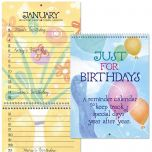 Just For Birthdays Calendar