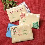 Kraft Gift Card Envelopes