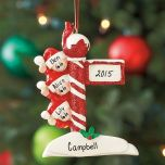 Personalized Lamp Post Ornament