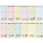 Faith Seasonal Lined Magnetic Shopping List Pads