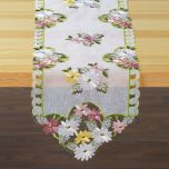 Everyday Daisies Cutwork Table Runner