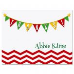 Chevron Banner Thank You Cards
