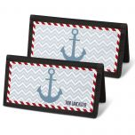 Nautical Chic Checkbook Cover - Non-Personalized