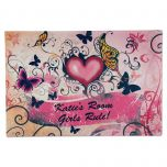 Hearts & Flowers Doormat