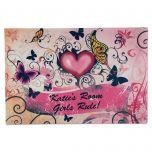 Hearts & Flowers Doormat