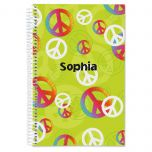 Peace Sign Notebook