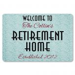 Retirement Home Doormat