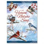 Winter Carol Religious Christmas Cards