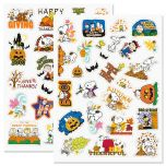 PEANUTS® Autumn Stickers - BOGO