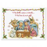 His Love Is Our Gift Christmas Cards