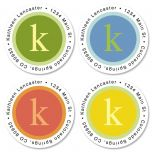 Sage Advice Round Address Labels  (4 designs)