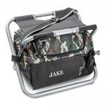 Deluxe Personalized Camo  Sit N' Sip Cooler Seat