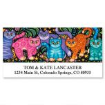 Sew Kitty Deluxe Address Labels