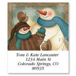 A Winter Hello Select Address Labels