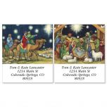 Nativity Scene Address Labels  (2 designs)