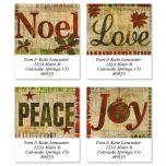 Glad Tidings Select Address Labels  (4 designs)