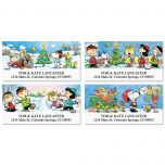 PEANUTS® Holiday Fun Address Labels  (4 designs)