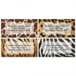 On the Wild Side  Border Address Labels  (4 designs)
