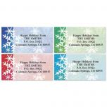 Snowflake Dream Address Labels  (4 designs)