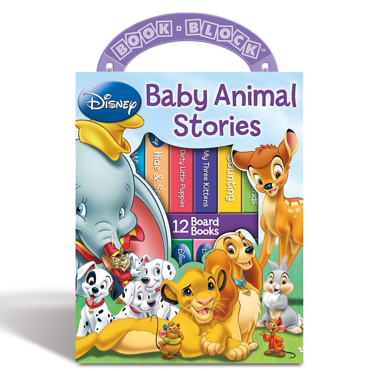 My First Library Set of Board Books - Baby Animal Stories