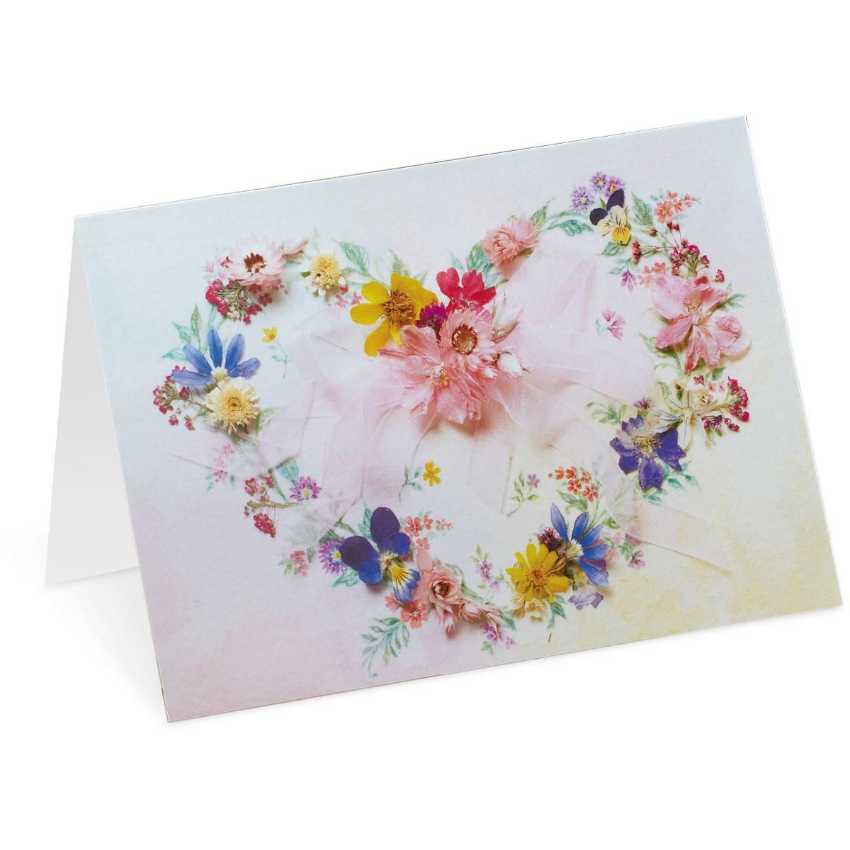 Heart Wreath Note Cards